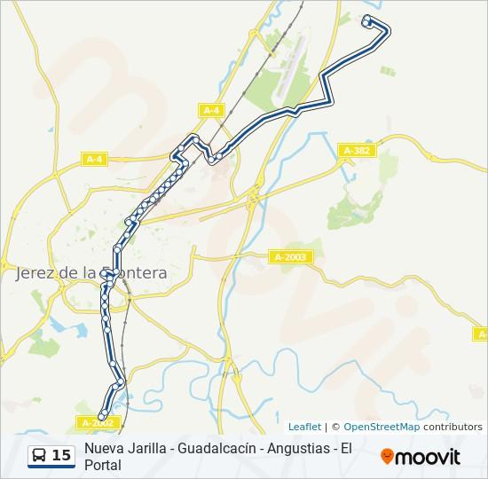 Línea 15 Horarios Mapas Y Paradas El Portal