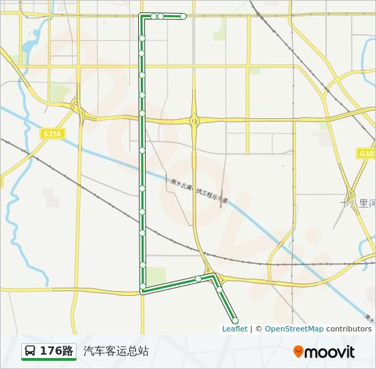 郑州客运总站_176:发车时间、线路图及站点 - 汽车客运总站