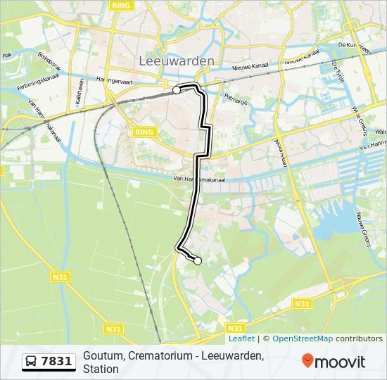 7831 Route Schedules Stops Maps Goutum Crematorium