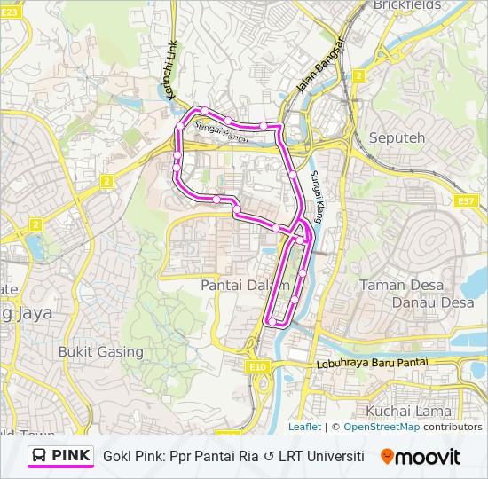 PINK bis Peta Jalur