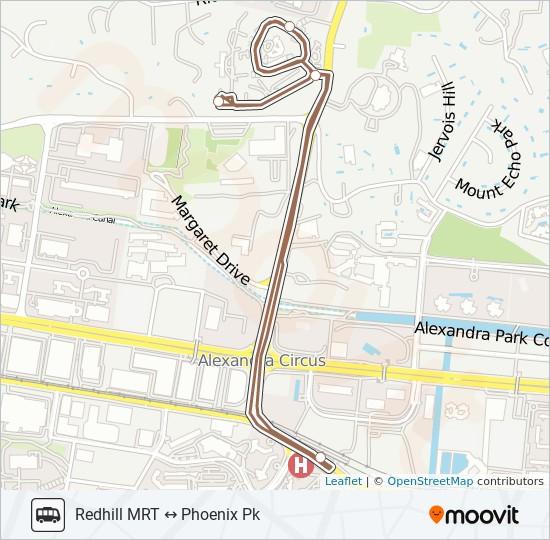 PHOENIX PARK SHUTTLE bus Line Map