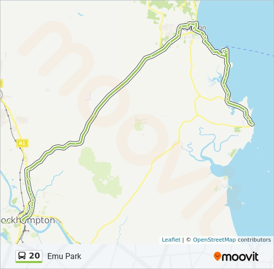 20 Route Schedules Stops Maps Emu Park