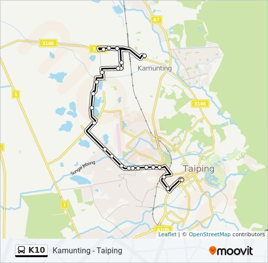 Peta Laluan bas K10