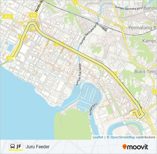 Peta Laluan bas JF