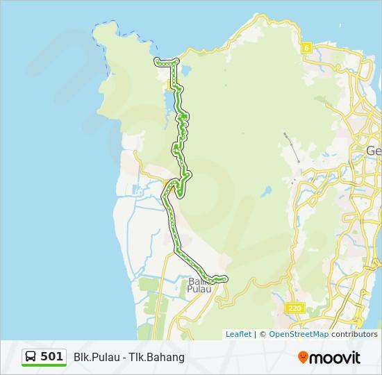 Peta Laluan bas 501