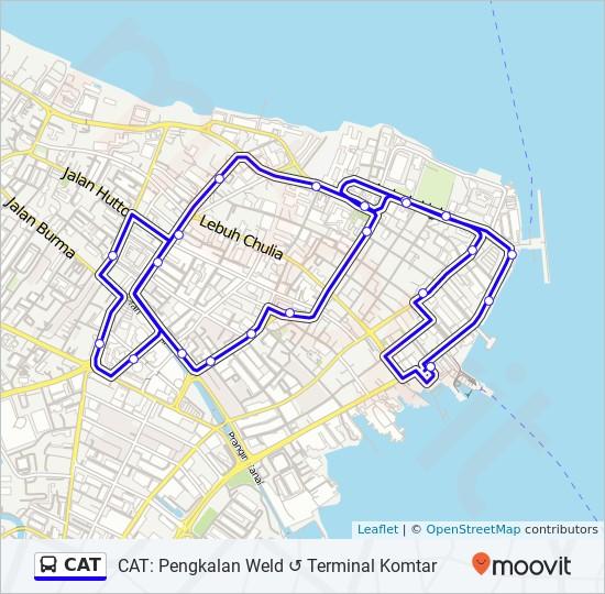 Peta Laluan bas CAT