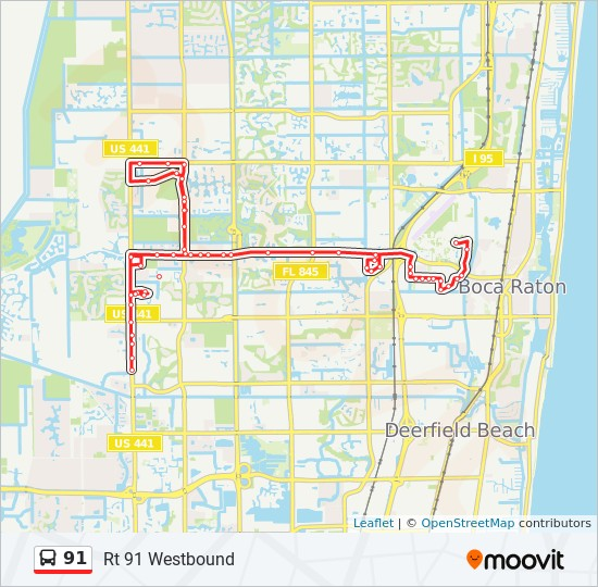 palm beach county school bus routes