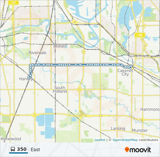 350 Route Time Schedules Stops Maps East