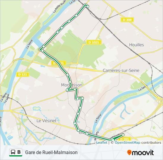 Ligne B Horaires Stations Plans Gare De Rueil Malmaison