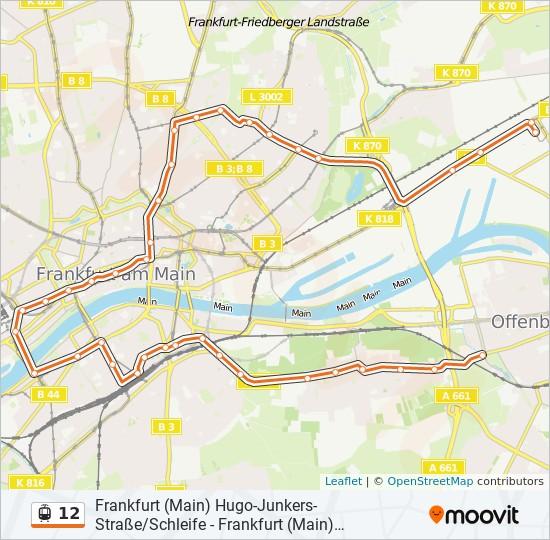 Linie 12 Köln Fahrplan