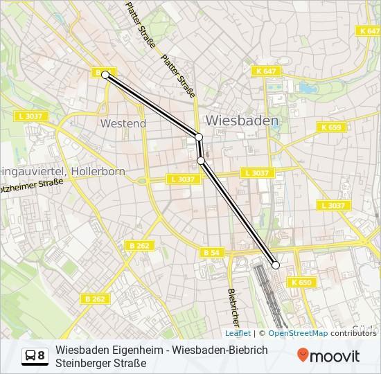 Linie 8 Wiesbaden