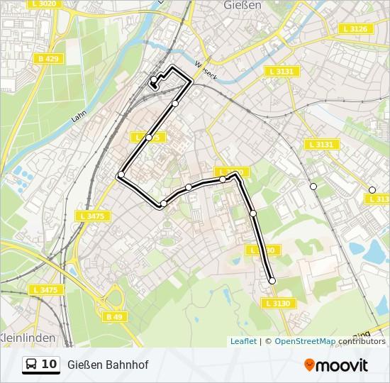 Bus 10 Gießen