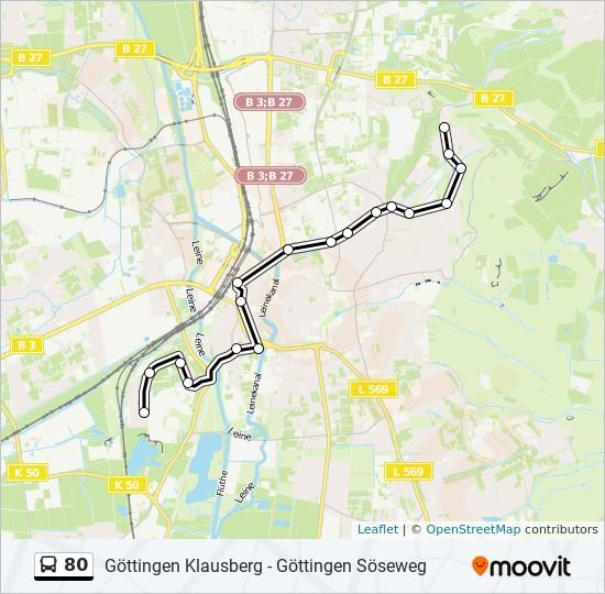 Linie 80 Göttingen