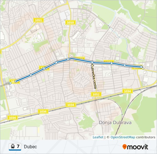 7 Route Time Schedules Stops Maps Dubec