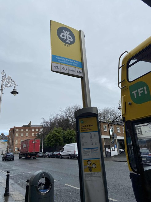 Parnell Square West, Stop 7 station