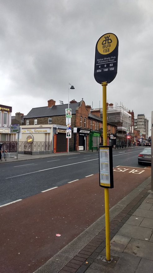 North Circular Road, Stop 188 station