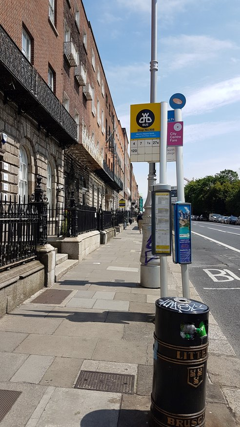 Merrion Sq North, Stop 408 station