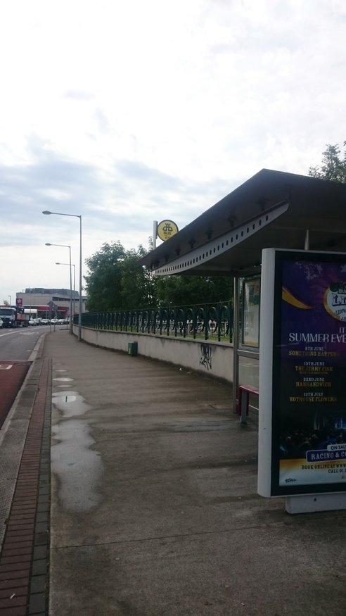 Merrion Gates, Stop 476 station