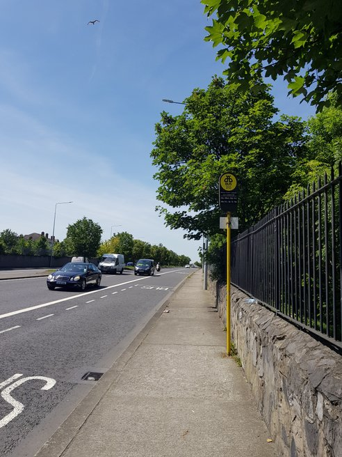 Chapelizod Bypass, Stop 2722 station