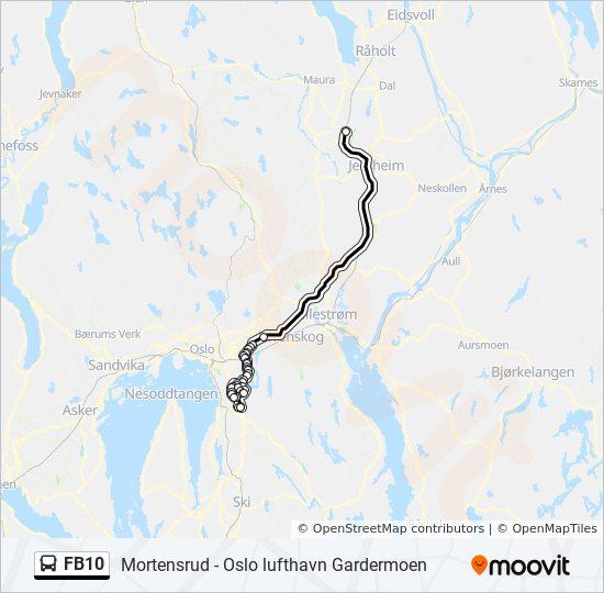 Buss Fra Gardermoen Til Mortensrud