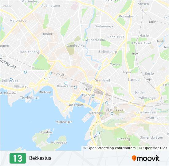grefsen stasjon kart 13 Rutetidtabeller, Stopp & Kart grefsen stasjon kart