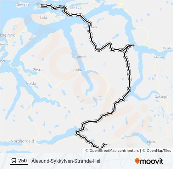 sykkylven kommune kart