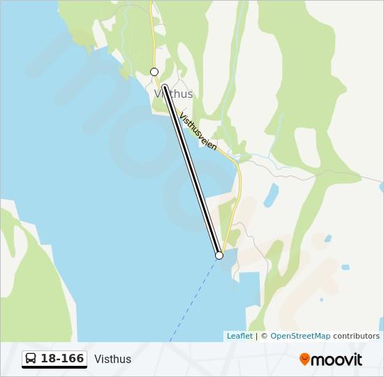 visthus 18 166 Route Time Schedules Stops Maps Visthus