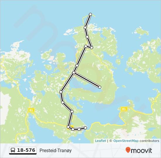 tranøy kart 18 576 Rutetidtabeller, Stopp & Kart tranøy kart