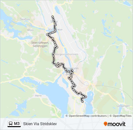 Buss Åmot Skien