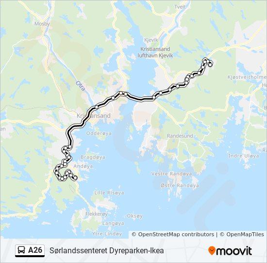 Rutetider Ikea Bussen