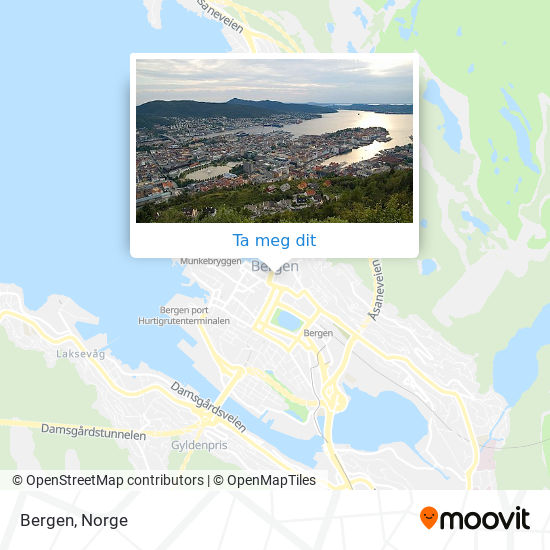 Bergen kart