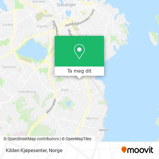 Kilden Kjøpesenter kart