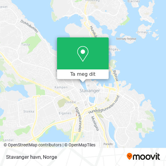 Stavanger havn kart