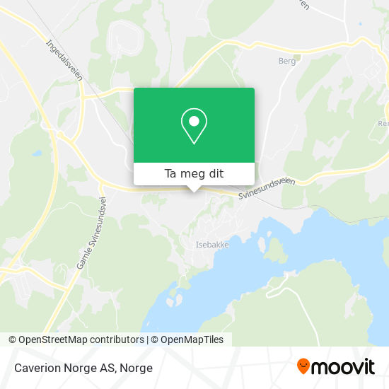 Caverion Norge AS kart