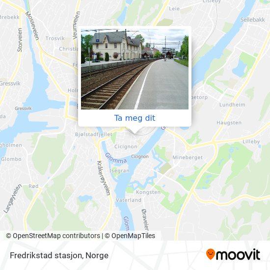 Fredrikstad stasjon kart