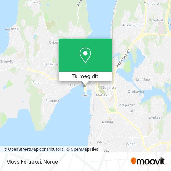 Moss Fergekai kart