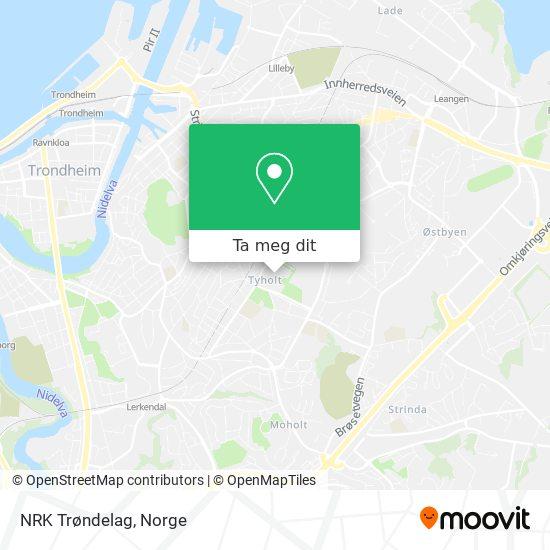 NRK Trøndelag kart