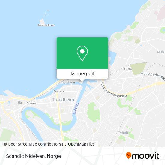 Scandic Nidelven kart