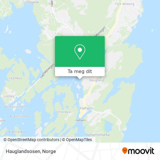 Hauglandsosen kart