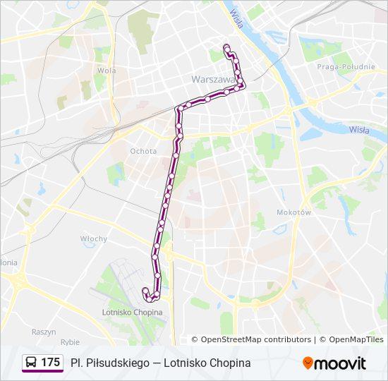 Rota Da Linha 175 Horarios Estacoes E Mapas