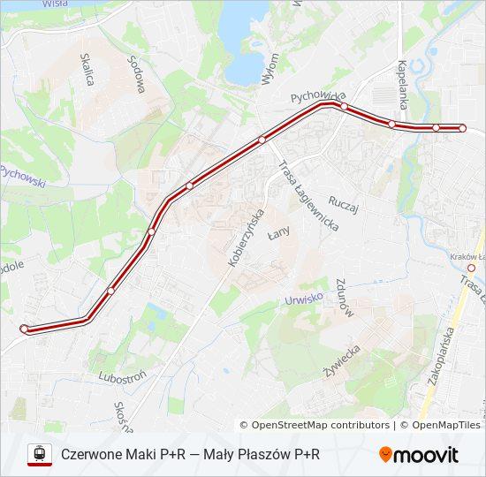 Linia 11 Rozklady Jazdy Przystanki I Mapy Czerwone Maki P R