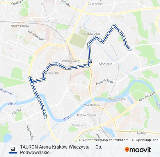 Linia 124 Rozklady Jazdy Przystanki I Mapy Os Podwawelskie
