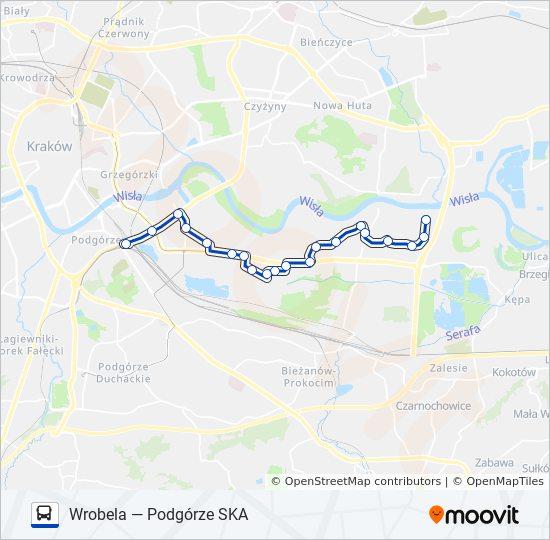 Linia 158 Rozklady Jazdy Przystanki I Mapy Podgorze Ska
