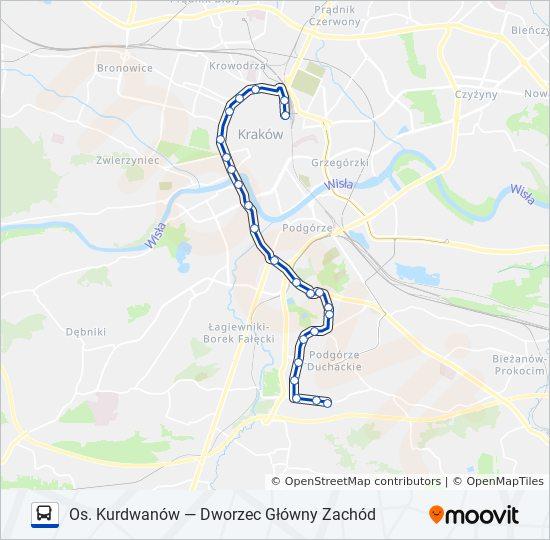 Linia 179 Rozklady Jazdy Przystanki I Mapy Dworzec Glowny Zachod