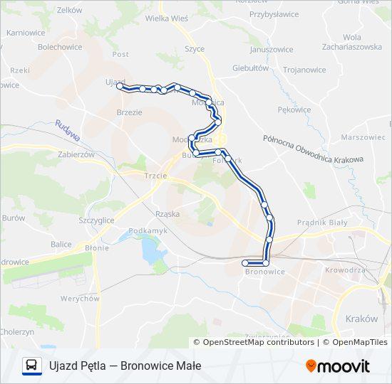 Linia 230 Rozklady Jazdy Przystanki I Mapy Ujazd Petla