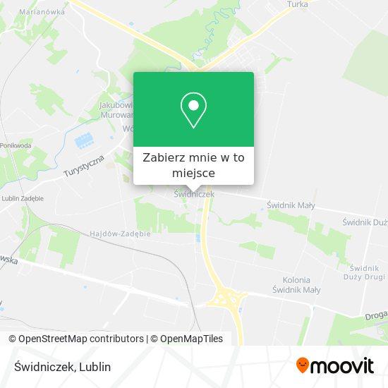 Mapa Świdniczek