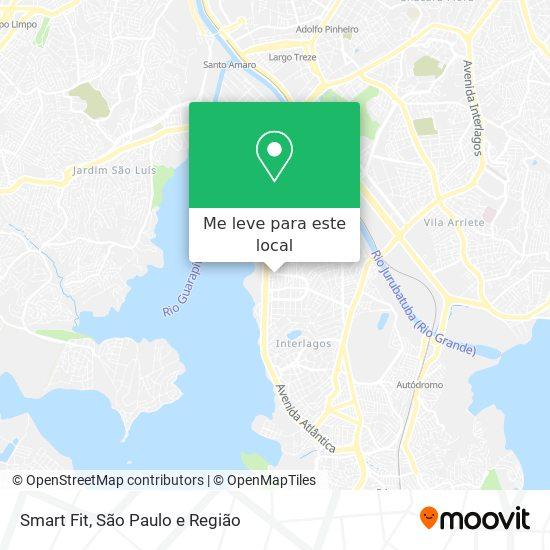 Smart Fit mapa