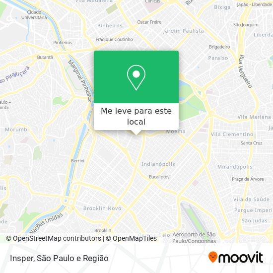 Insper mapa