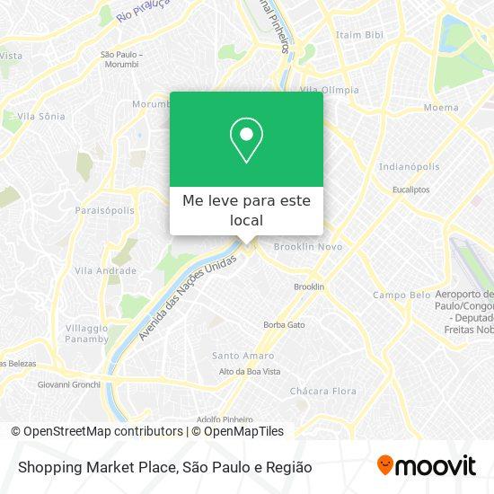 Shopping Market Place mapa