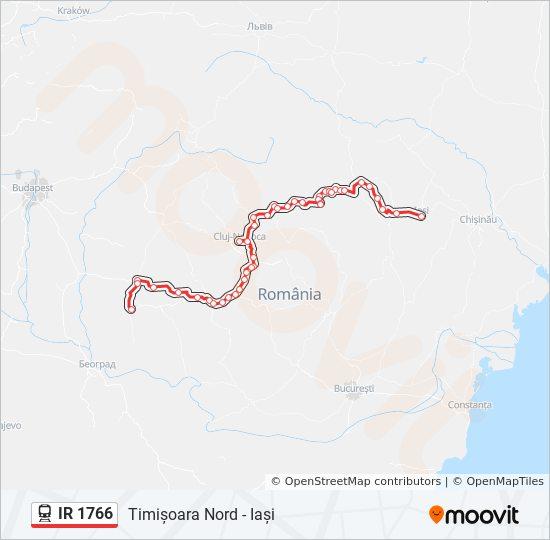Ir 1766 Utvonal Menetrendek Megallok Es Terkepek Timișoara